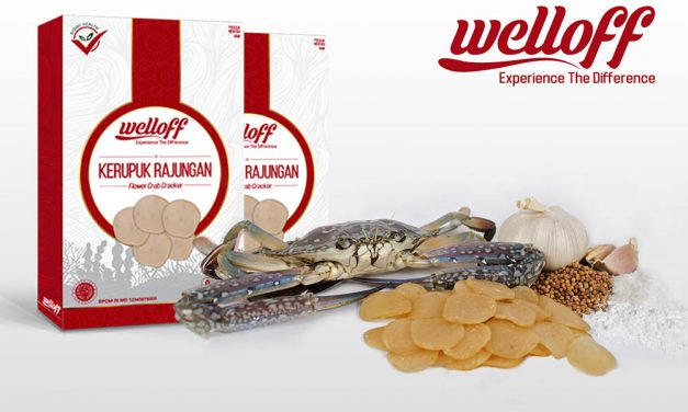 Krupuk Rajungan Welloff : Endless Happiness
