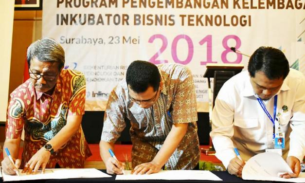 IBBT-LPPM UPGRIS mendapatkan hibah pengembangan kelembagaan Inkubator Bisnis Teknologi dari Kemenristekdikti
