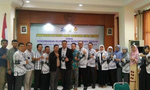 IBBT-LPPM UPGRIS mengadakan kegiatan FGD Pengembangan Kelembagaan Inkubator