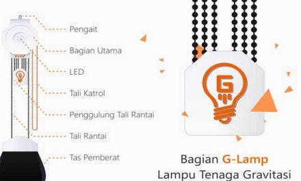 G LAMP – LAMPU TENAGA GRAVITASI
